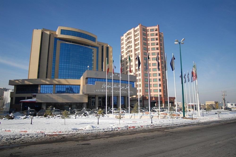 پروژه هتل شهریار تبریز
