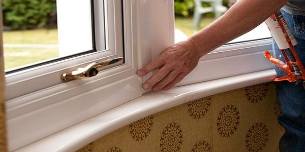 هوابندی دربها و پنجره های UPVC