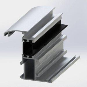 پروفیل لنگه کوچک MPLT60 –  Small Vent Profiles
