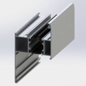 فریم روکوب دار MPLT60 – Frame Profiles