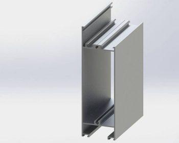 پروفیل پایین درب Low Profile Door