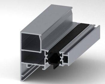 پروفیل لنگه MPLT55 – Vent Profiles