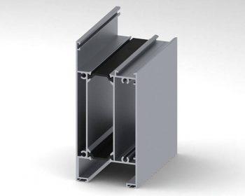 پروفیل پائین درب MPLT60 – Low Profile Door